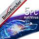 Bitdefender AntiVirus Plus 5PC/1Rok