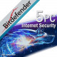 Bitdefender Internet Security 5PC/2Lata