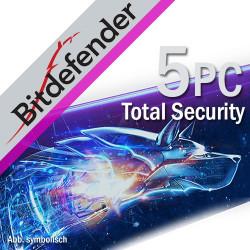 Bitdefender Total Security 5PC/2Lata Odnowienie