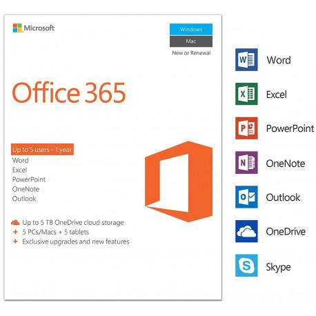 Microsoft Office Business 5Pc