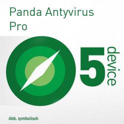 Panda Antivirus Pro 2018 5 Pc 3 Lata
