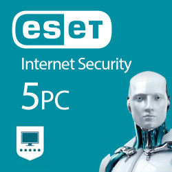 ESET Internet Security 5 PC 1 ROK