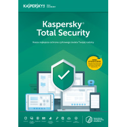 Kaspersky Total Security multi-device 2PC/1Rok Odnowienie