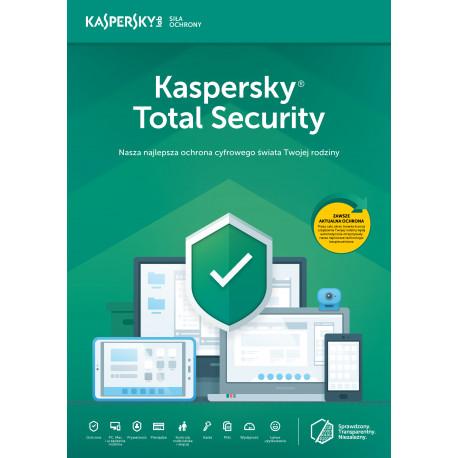 Kaspersky Total Security multi-device 2PC/1Rok