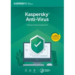 Kaspersky AntiVirus 2PC/2Lata