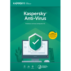 Kaspersky AntiVirus 2PC/1Rok
