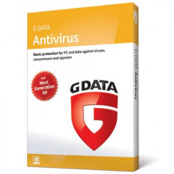 G Data AntiVirus 2019 1PC/2Lata