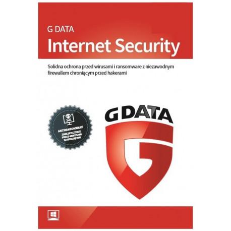 G Data Internet Security 2PC/1rok Odnowienie