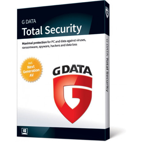 G Data Total Security 2019 (Protection) 3PC/2Lata