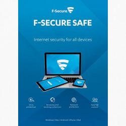 F-Secure SAFE Internet Security 2018 5 PC 1 ROK