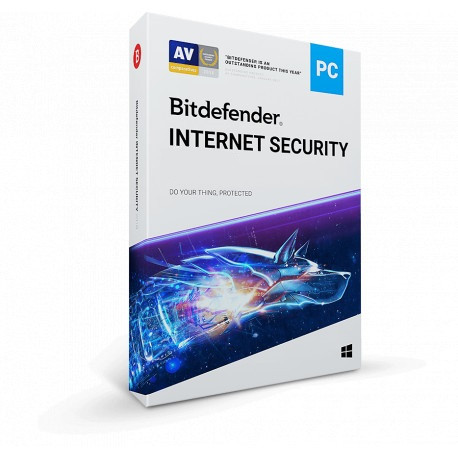 Bitdefender Internet Security 10PC/2Lata