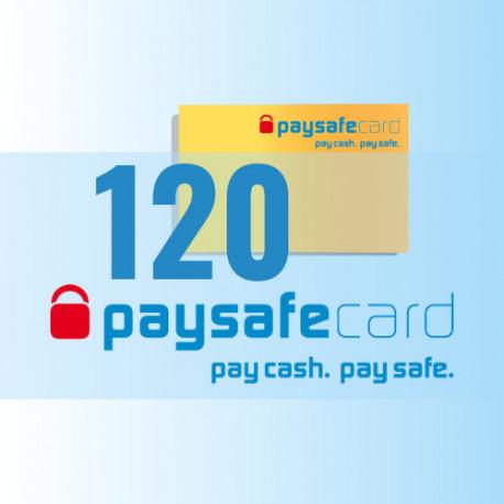 PaySafeCard 120 zł ( 100 + 20 ) PSC