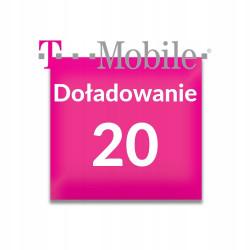 Doładowanie T-Mobile 20 zł