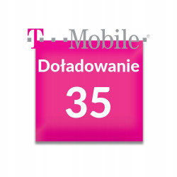 Doładowanie T-Mobile 35 zł