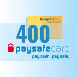 PaySafeCard 400 zł ( 200 + 200 ) PSC