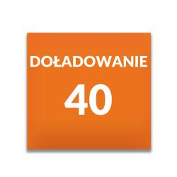 Doładowanie ORANGE 40 zł
