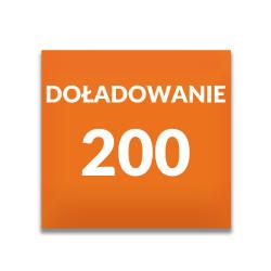 Doładowanie ORANGE 200 zł