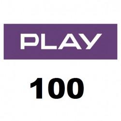 Doładowanie Play 100 zł