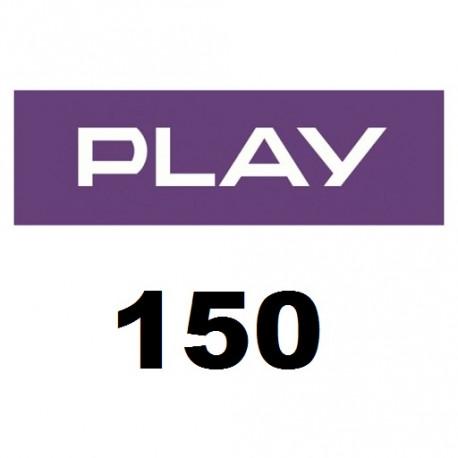Doładowanie Play 150 zł