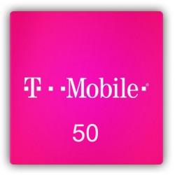 Doładowanie T-Mobile 50 zł