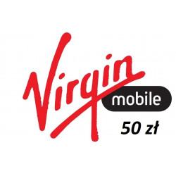Doładowanie Virgin Mobile 50 zł