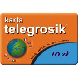 Doładowanie Telegrosik 10 zł