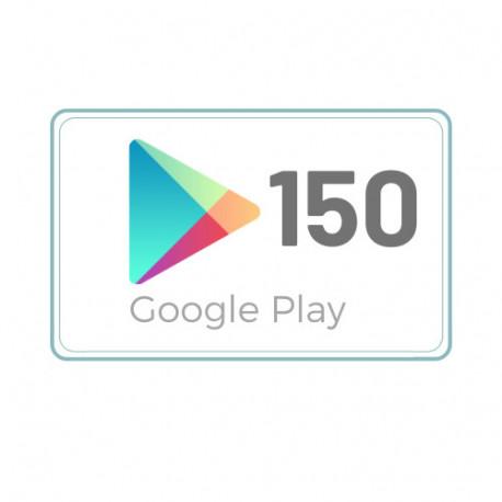 Kod Podarunkowy Google Play 150 zł