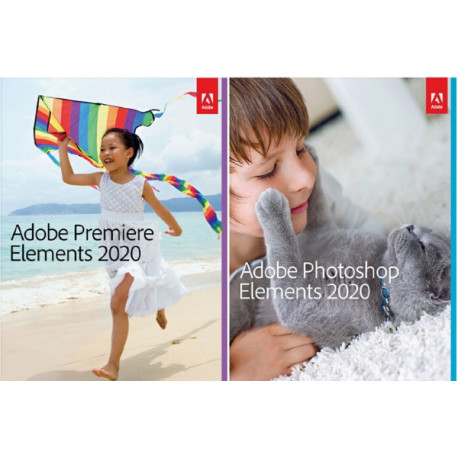 Adobe Photoshop & Premiere Elements 2020 PL