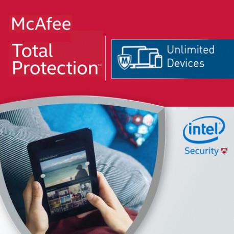 McAfee Total Protection 2018 KEY Unlimited PC