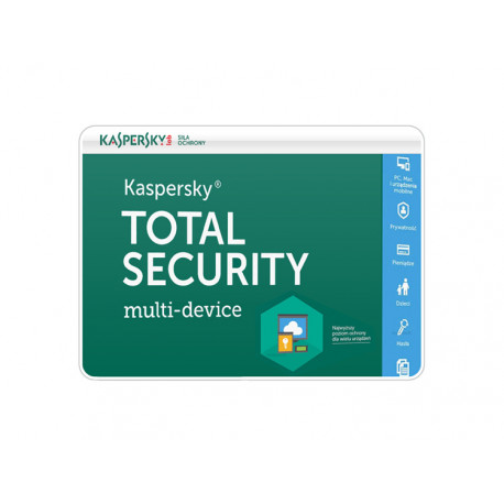 Kaspersky Total Security multi-device 2PC/1Rok