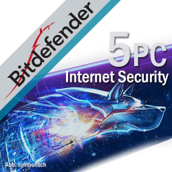 Bitdefender Internet Security 5PC/3Lata