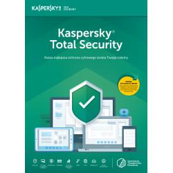 Kaspersky Total Security multi-device 5PC/2Lata Odnowienie